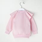 """Джемпер Крошка Я """"Любимая малышка. Красивая"""", розовый, 26 р, 74-80 см - фото 105711621"""