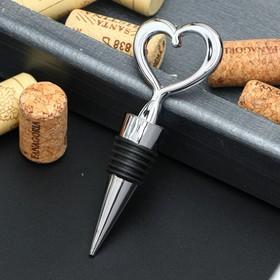 {{photo.Alt || photo.Description || 'Пробка для бутылки «Сердечко», 11,5 см, цвет серебристый'}}
