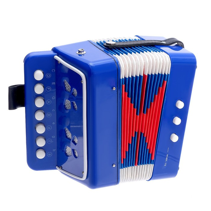 Игрушка музыкальная «Гармонь», в пакете