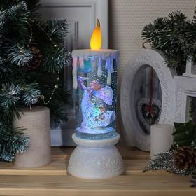 """Фигура световая свеча """"Ангел"""", 26х10х10 см, от бат. 3*АА(не в компл.), RGB"""