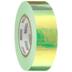 Обмотка для обруча с подкладкой MIRROR RAINBOW 20 мм × 14 м, цвет флуоресцентный зелёный