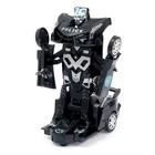 Робот «Полицейский», трансформируется, световые и звуковые эффекты, работает от батареек - фото 105504620