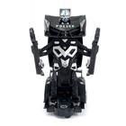 Робот «Полицейский», трансформируется, световые и звуковые эффекты, работает от батареек - фото 105504621