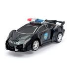 Робот «Полицейский», трансформируется, световые и звуковые эффекты, работает от батареек - фото 105504623