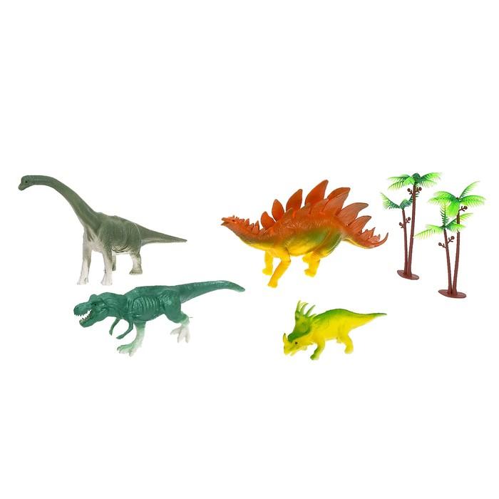 Набор динозавров «Мир динозавров», 4 фигурки