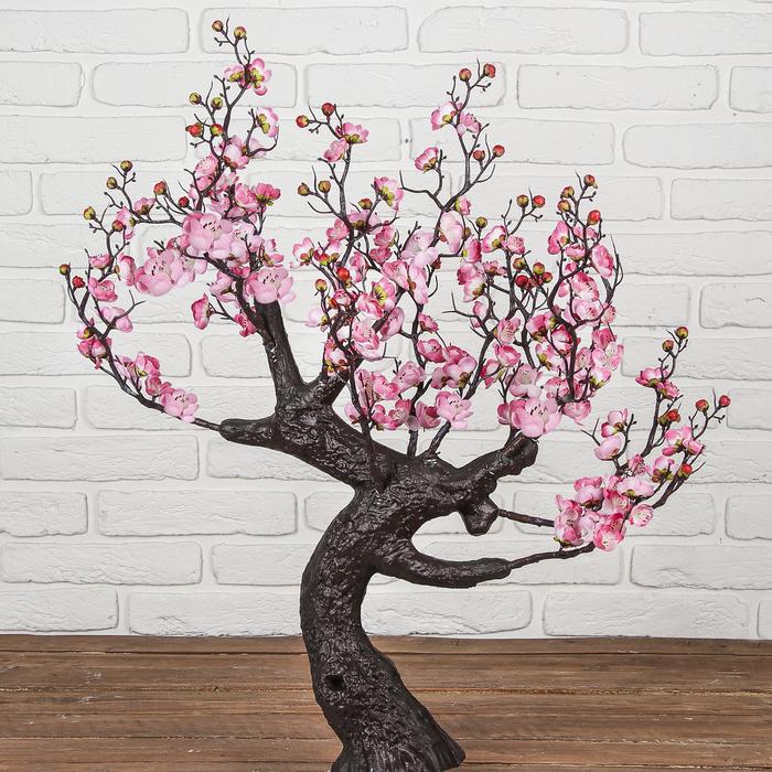 """Дерево искусственное """"Сакура в цвету"""" 85 см, розовый    (без горшка)"""