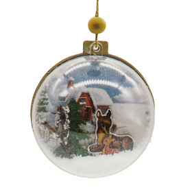 "Creativity kit - design Christmas tree ornament ""deer Family"""