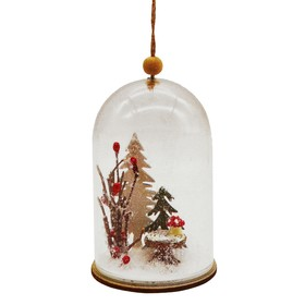 """Creativity kit - design decoration """"Composition Christmas in the flask"""""""