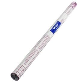 Пленка самоклеящаяся прозрачная бесцветная для книг и учебников, ОТКЛЕИВАЕМАЯ, 0.50 х 1.5 м, 50 мкм, Sadipal