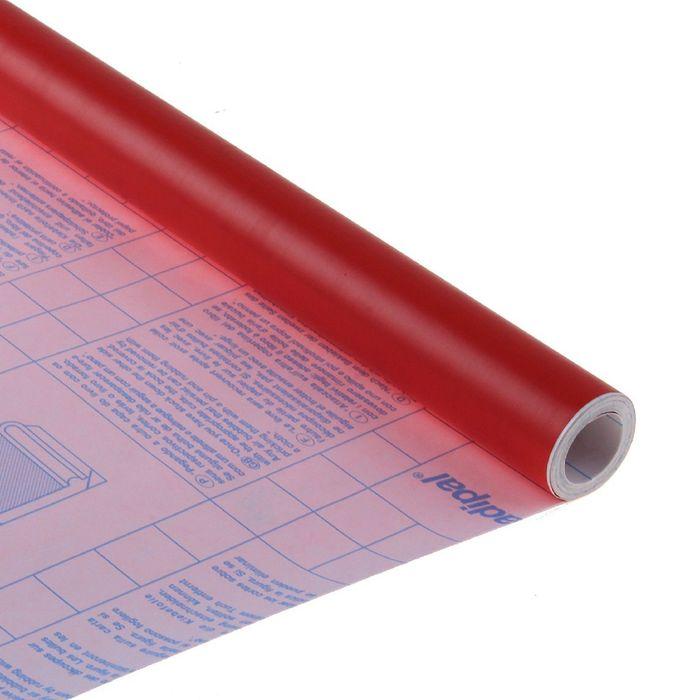 Пленка самоклеящаяся цветная 0.5*3 м Sadipal 100 мкм, Matt красная 12210