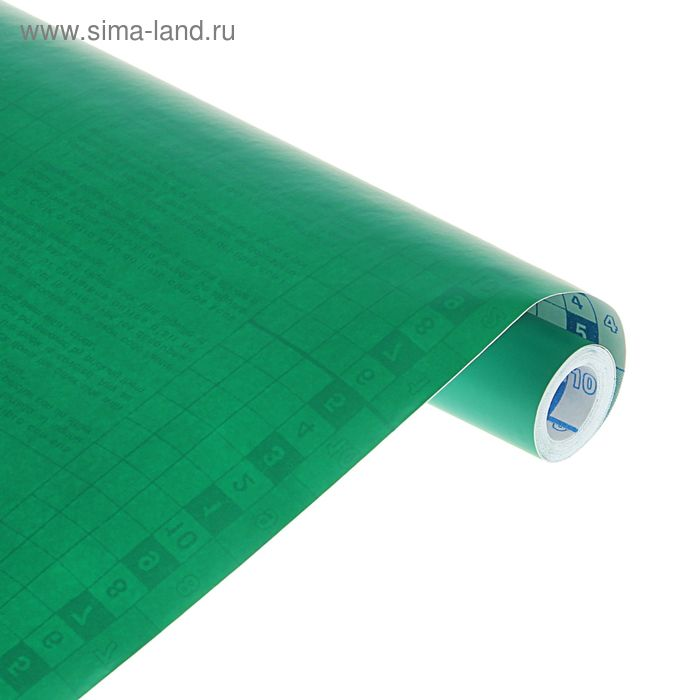 Пленка самоклеящаяся цветная 0.5*3 м Sadipal 100 мкм, Matt зеленая 12212