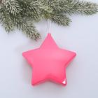 "Suspension on the tree ""Purple star"" 10 cm"