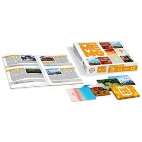 """Board game """"Memo. Wonders of nature"""