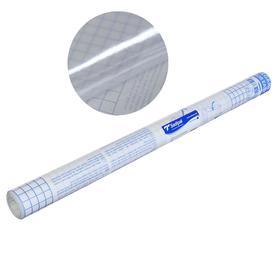 Плёнка самоклеящаяся прозрачная бесцветная для книг и учебников, 0.45 х 3.0 м, 50 мкм, Sadipal