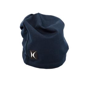 Шапка для девочек, обхват 52-54 см, цвет синий