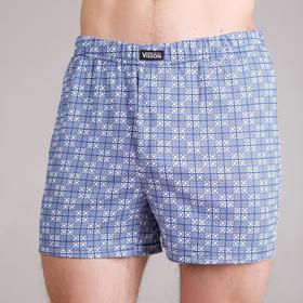 Трусы мужские шорты, цвет синий, размер 56