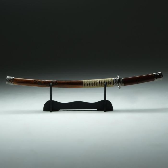 Сув. изделие катана , ножны под дерево, клинок 48 см