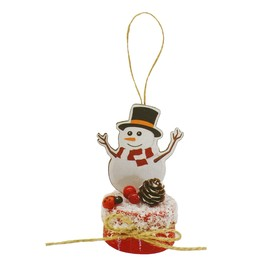 "Creativity kit - design Christmas decoration ""Snowman in hat"""