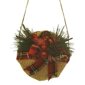 "Creativity kit - design Christmas tree ornament ""Ball with bow"""