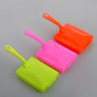Щётка роликовая с ручкой, 2 ролика, цвет МИКС - фото 4646335