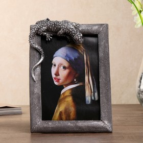 Polyresin photo frame 10x15cm
