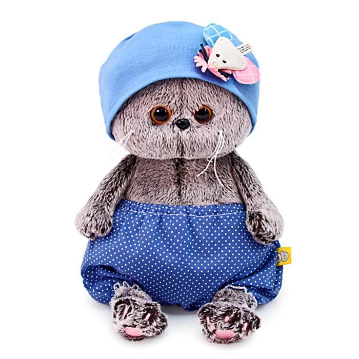 Мягкая игрушка «Басик Baby в шапочке с мышкой», 20 см - фото 4468990