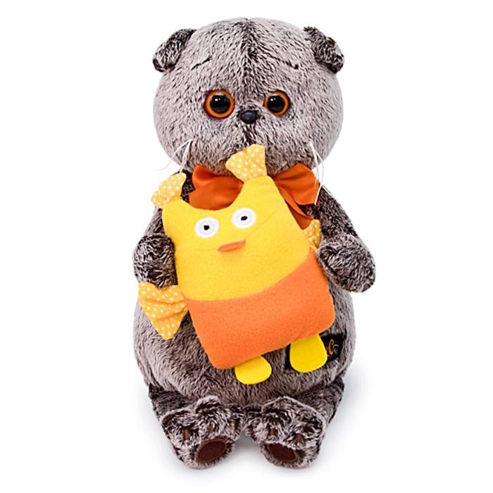 Мягкая игрушка «Басик с совой», 19 см - фото 105615789