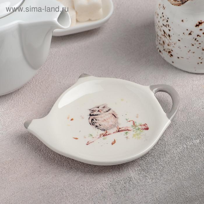 "Stand tea bag ""Sovushka"" 12h8,4x1,5 cm"