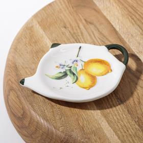{{photo.Alt || photo.Description || 'Подставка под чайный пакетик Доляна «Лимон», 12×8,4 см'}}