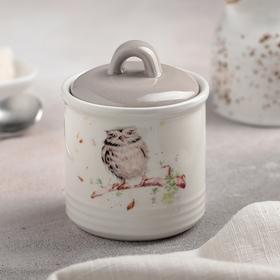 "Sugar bowl ""Sovushka"" 200 ml 7x9 cm"