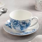 "A couple of tea ""Selena"" Cup 280 ml, saucer 15 cm"