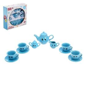 Набор керамической посуды «Весёлое чаепитие», 13 предметов