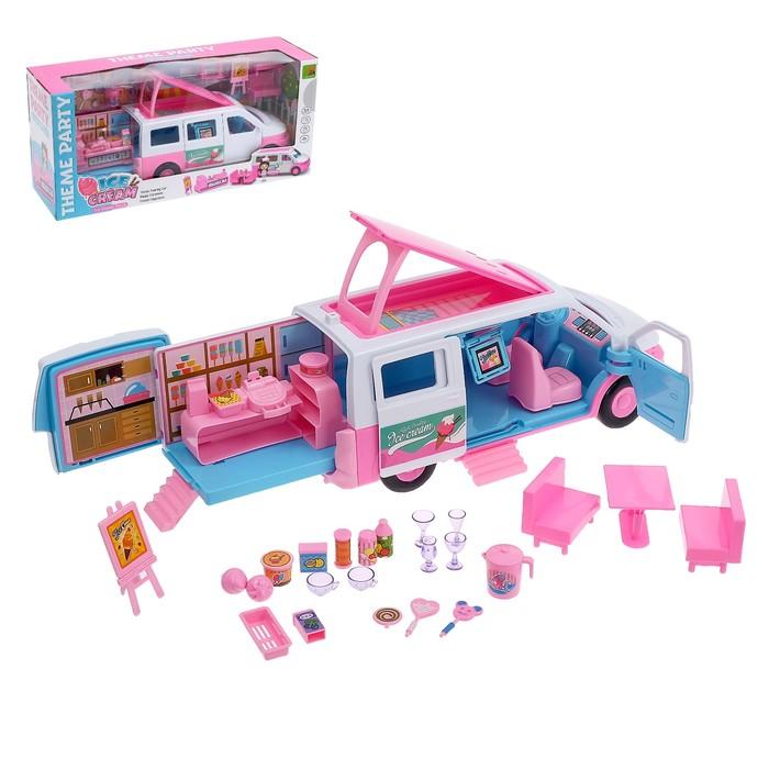 Игровой набор «Играем в ресторан», в машинке - фото 105583294