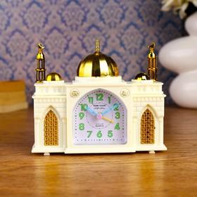 "Alarm clock ""Eastern mosque"", 14.5x12 cm"