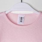 Футболка для девочки, цвет розовый микс, рост 122-128 см - фото 105705920