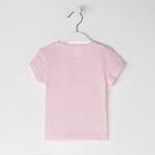 Футболка для девочки, цвет розовый микс, рост 122-128 см - фото 105705921