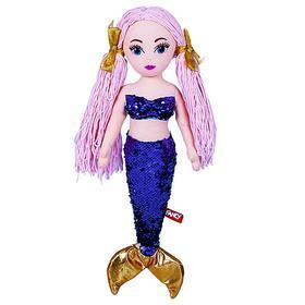 Мягкая кукла «Русалка», цвета МИКС