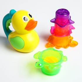 "A set of bath toys ""Duck and friends"""