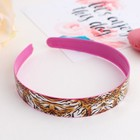 """Hair band """"Colorful"""" 2 cm, mix"""