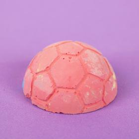 Мел цветной  фигурный (футбольный мяч) 12 шт,в пакете