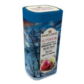 """Чай черный Forest of Arden """"Супериор"""" листовой с яблоком и корицей ж/б 100 г"""