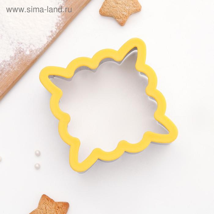 """Clip shape of biscuits """"Frame"""" 10,5x10,5x4,5 cm"""