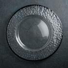 Тарелка подстановочная «Фишер», d=35 см, цвет обводки чёрный
