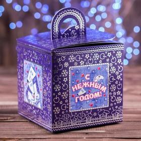 "A cardboard box ""Snow cube"", 14 x 14 x 14 cm"
