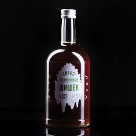 Сироп в бутылке из сосновой шишки, 0,7