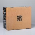 Коробка складная «Брутальность», 31,2 х 25,6 х 16,1 см
