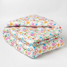 """Одеяло стеганое """"детское+"""" 110*140, синтепон, 200г/м"""