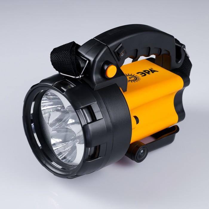 "Фонарь ""Эра"" PA-604, 3х1Вт светодиода, аккумулятор 3.7В, 3А.ч"