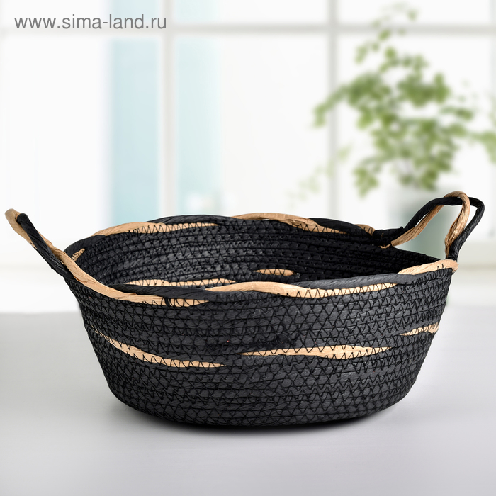 The storage basket is the voice 28х16х22 cm, colour blue