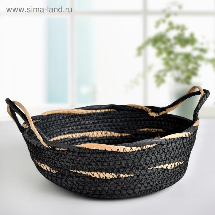 The storage basket is the voice 25х9х20 cm, colour blue